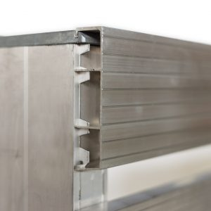 Anti skid aluminium pallet by Holocene
